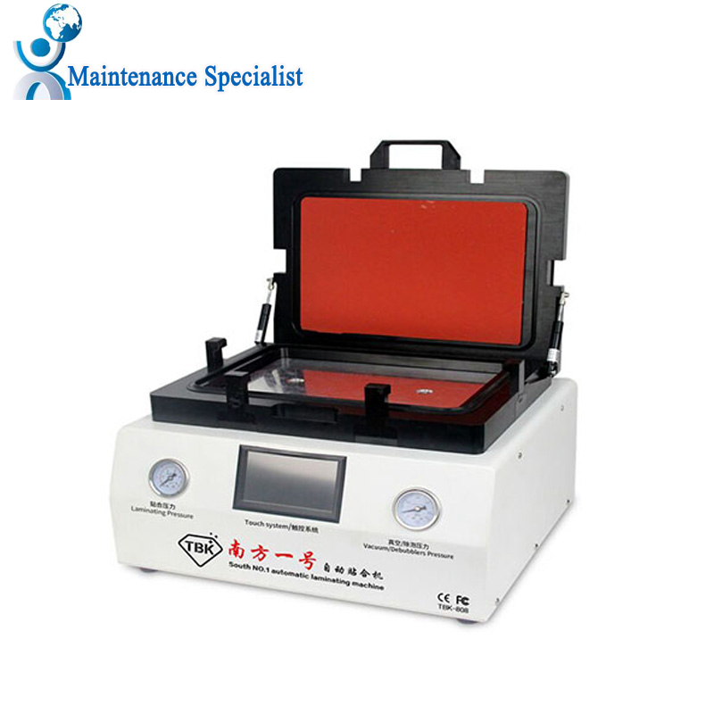 TBK 808 LCD Touch Screen Repair Automatic Bubble Removing Machine OCA Vacuum Laminating Machine with automatic