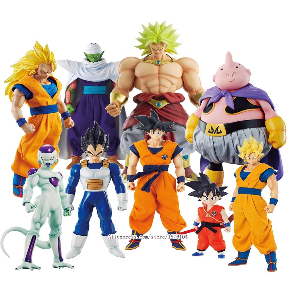 Anime Dragon Ball Z MegaHouse DOD Goku Action Figure Juguetes DragonBall Piccolo Vegeta Frieza Figures Collectible Model Toys
