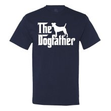"Jack Russel Themed T-Shirt ""The Dogfather"""