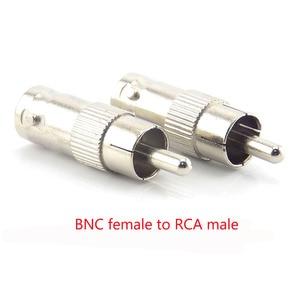 Image 3 - 2/5/10Pcs Bnc Connector Vrouwelijke Bnc Male Naar Male Rca Bnc Vrouwelijke Om rca Male Adapter Plug Voor Systeem Cctv Camera