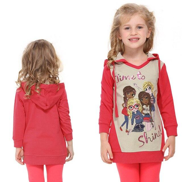 Красный дети толстовки детская одежда куртки roupas молния новый год Кофты для девочек-подростков детские спортивные костюмы хлопка одежды