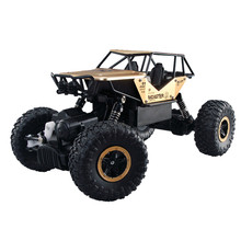 RC Car 4WD Monster Truck Remote Control 2.4GHz Rock Crawlers Off Road Car 1/18 Shockproof ATV  Strong Climbing Capacity OC26B