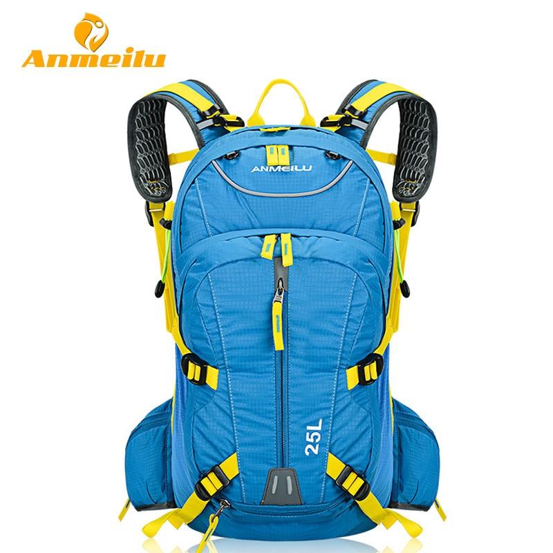 ANMEILU 25L Cycling Backpack Bag Waterproof Men Women Mountain Road Bicycle Bike Bag Outdoor Sports Backpack