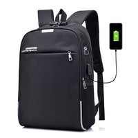 Anti Theft Laptop Backpack School Plecak USB Charging Rugzak Men Stundet Back Pack Bags Casual Travel Bag Mochila Male Zaino