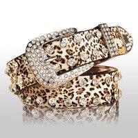 Холодная сталь Универсальная Женская ремень женский алмаз украшения леопардовая расцветка ремень женский ремень полный горный хрусталь п...