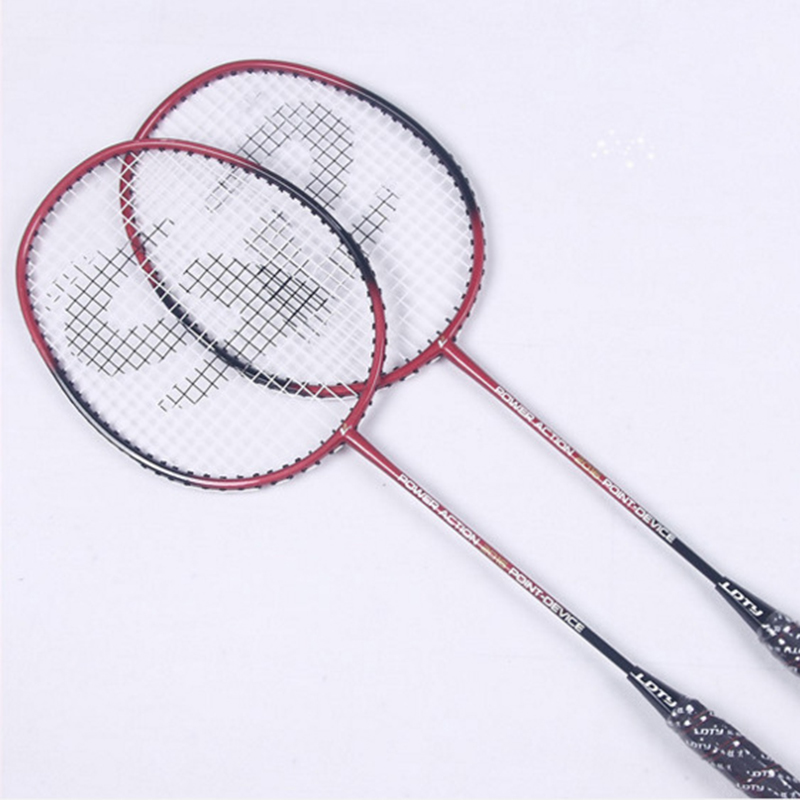 JUNRUI Professional Badminton Rackets With Strings Carbon Badminton Sports Racquet Sports Overgrip Racket LD2016