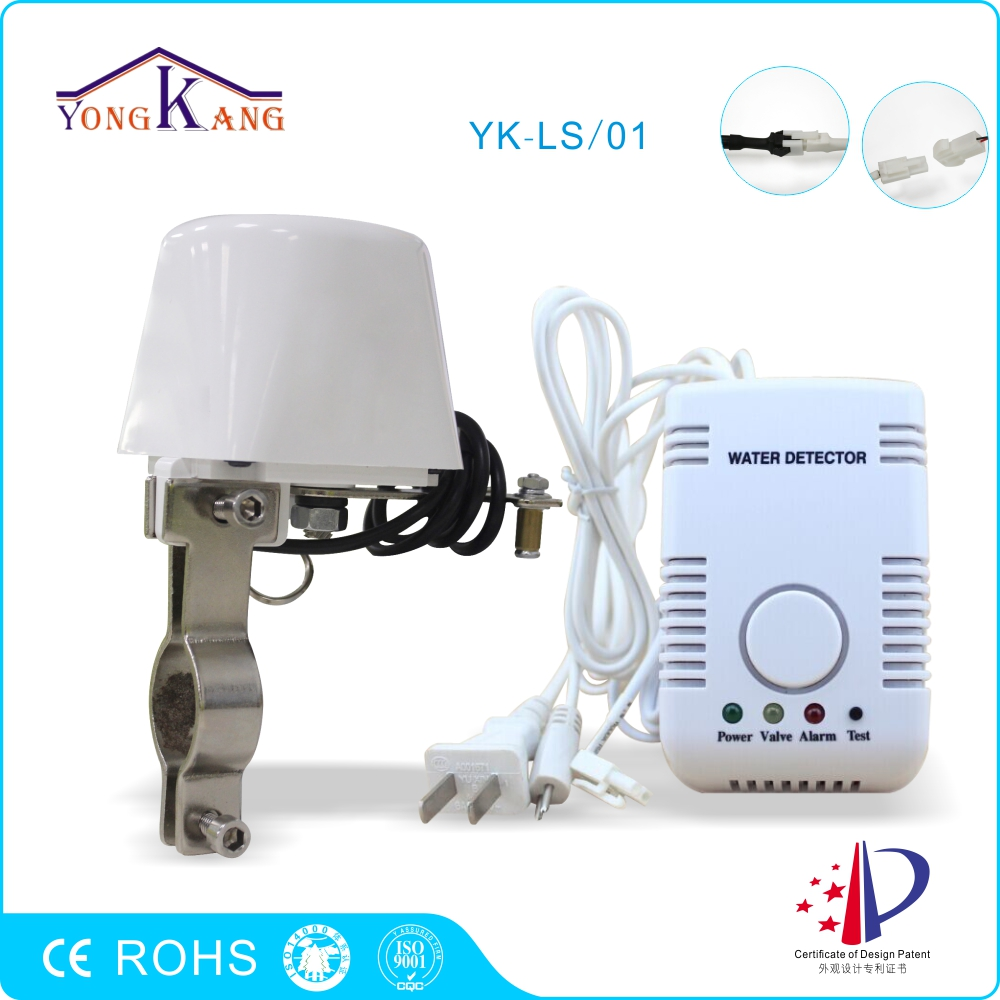 imágenes para Yongkang Alarma de Fugas de Agua con Manipulador Válvula DN15 Válvula de cierre Automático