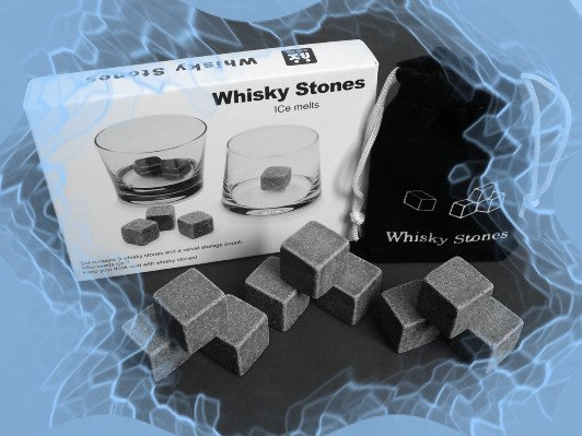 Whisky Stones, 9pcs/set 50set with delicate box+velvet bag whiskey rock stone,beer stone