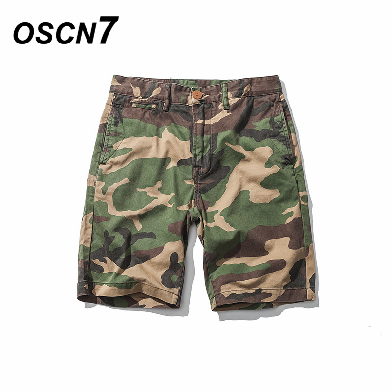 OSCN7 Camouflage Shorts Plus Size Casual Fashion Shorts Men Cargo Loose Leisure Mens Clothing Summer Shorts ...