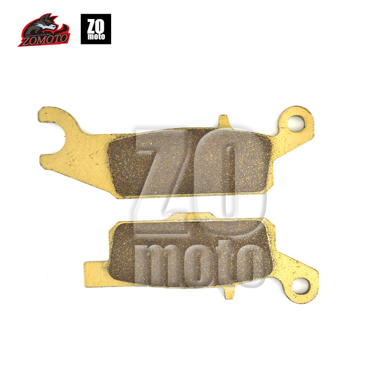 ZOMOTO 2016  Motorcycle  Disc Brake Pads FA444 fit for YAMAHA ATV YFM 250 RX 08-13 FRONT RIGHT DHFH GRIZZLY 4WD HUNTER 2015 F motorcycle disc brake pads fa473 fit for can am spyder rs ses 990cc 08 09 phantom black