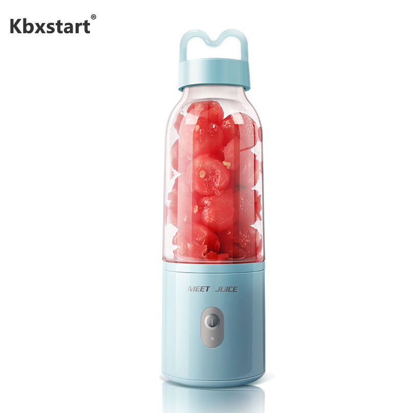 Electric Portable USB Juicer Blender Mini Fruit Mixers Juicers Fruit Extractors Food Milkshake Multifunction Juice Maker Machine|Juicers|   - title=