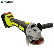 Angle Grinder with 18V Lithium Battery Cutter for Polishing pads Cutting Saw Blade Polisher Machine Marble Wood