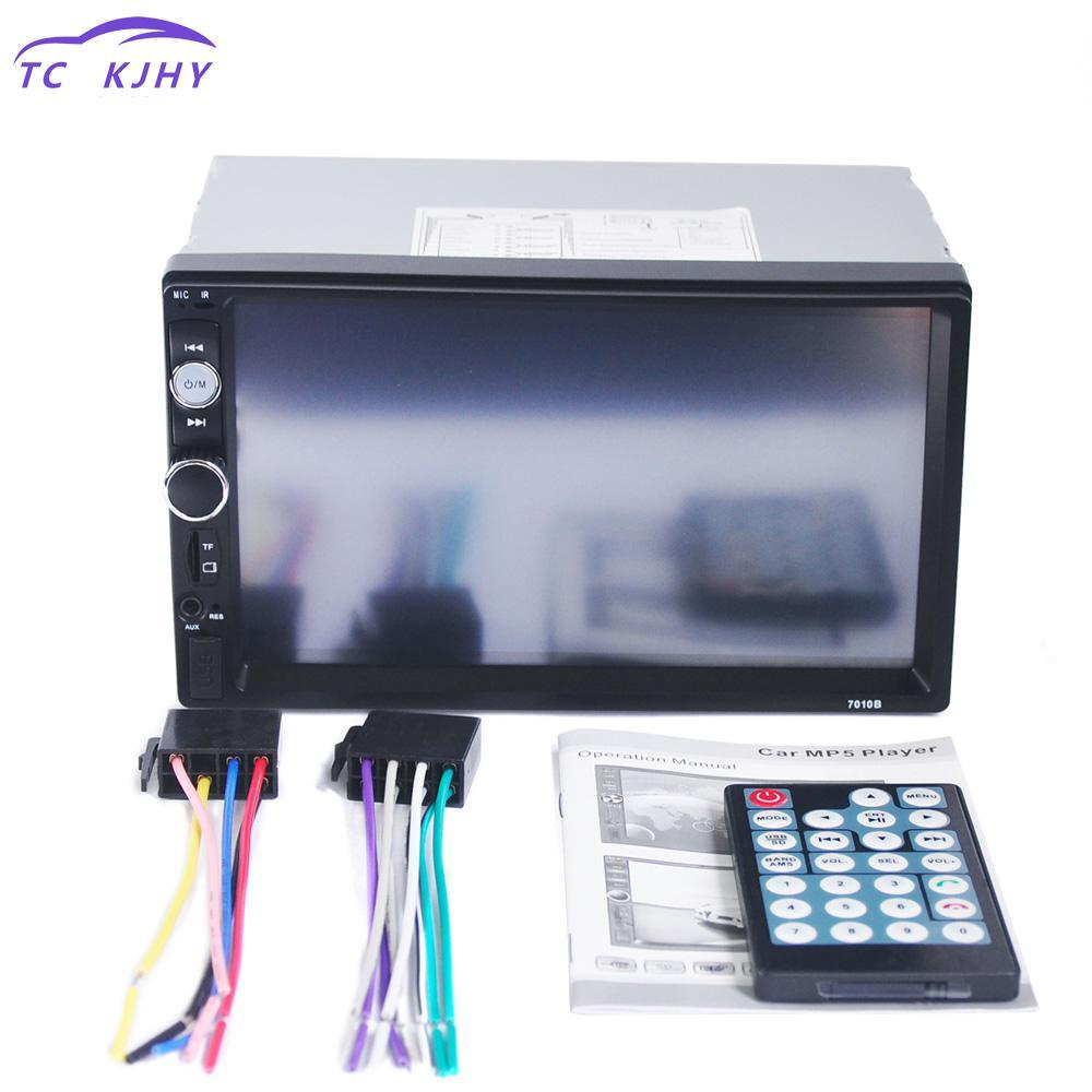 2018 2 Din Car Multimedia Player Audio Stereo Radio 7 Inch Hd Mp5 Touch Screen Digital Display Bluetooth Usb Fm Autoradio Player