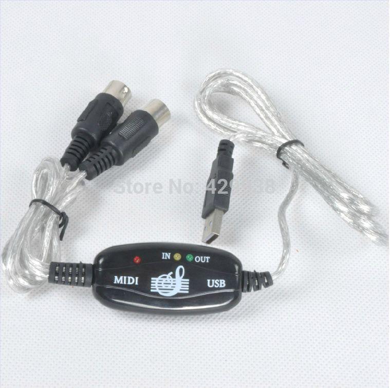 USB MIDI CABLE music editing midi-usb electronic piano midi line Professional-grade performance