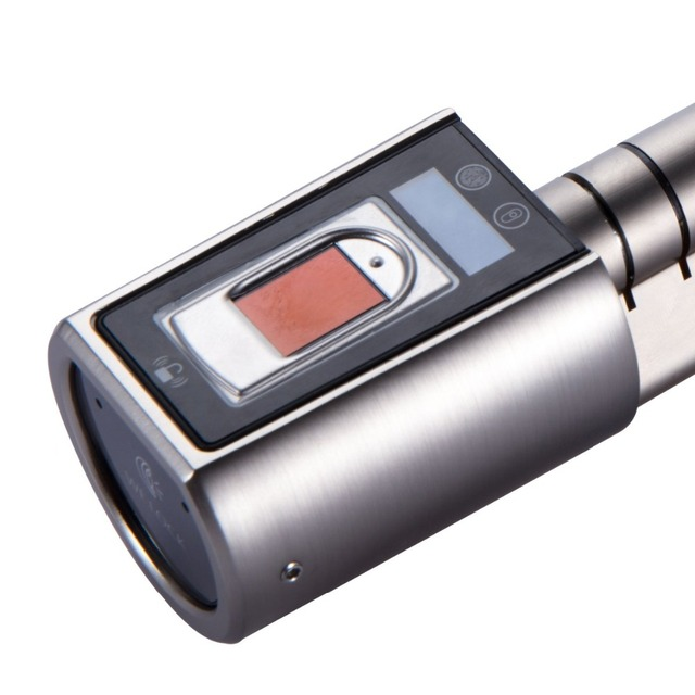 Stainless Steel Lock with Fingerprint