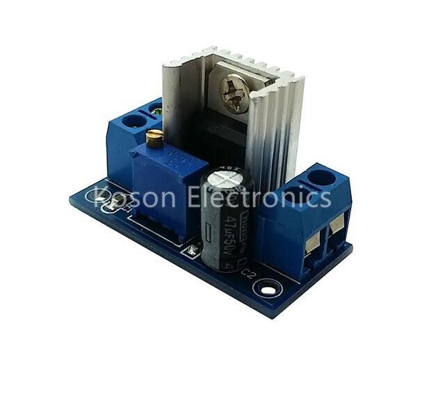 5pcs LM317 DC-DC Converters Buck Power Module Adjustable Linear Regulator Module