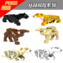 Animal Brick Building Blocks Tiger Camel Compatibility LegoINGlys Figures Building Blocks Bricks Educational Toys For Children