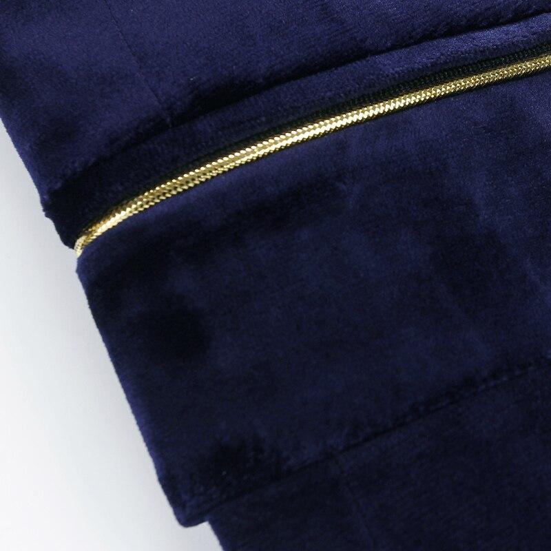 2019 New Mens Blazers Gentlemen High Quality Velvet Blazer Smooth Men's Coats Business Casual Suits Jackets Men Plus Size M 3XL - 5