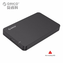 Solución de Almacenamiento portátil De ORICO 2.5 SATA 3 a USB 3.0 Caso Caja Externa de Disco duro SSD UASP Apoyo Herramienta Gratuita Hot-Swap