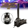 USB Handrem PC Racing Games SRS Sequentiële Shifter Versnellingspook SIM Voor Logitech G25 G27 G29 T300 T500 FANATEC Handrem systeem