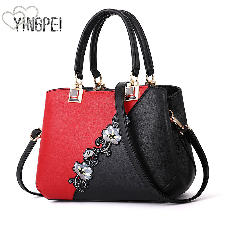 Women Bag Brand Women's Leather Handbags Female Shoulder bag designer Luxury Lady Tote Large Capacity Zipper Handbag patchwork foxer brand women s cow leather handbags female shoulder bag designer luxury lady tote large capacity zipper handbag for women page 5