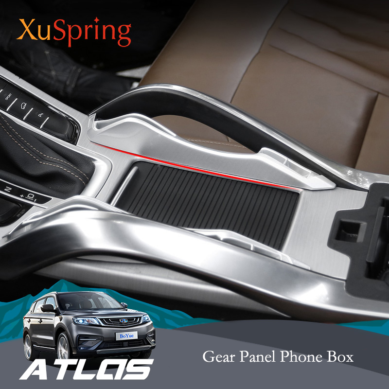 For <font><b>Geely</b></font> <font><b>Atlas</b></font> Emgrand Boyue NL-3 Proton X70 2016 2018 <font><b>2019</b></font> Car Console Armrest Storage Box Container Glove Organizer Case image