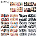 Rolabling Beauty Marilyn Monroe nail art nail sticker with water transfer nail decoration sticker for nail sticker decals