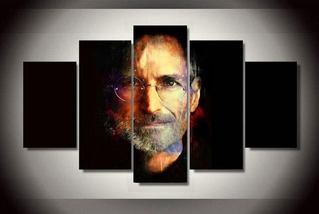 2017 Ungerahmt Beruhmte Steve Jobs Apple Grunder Leinwand Malerei