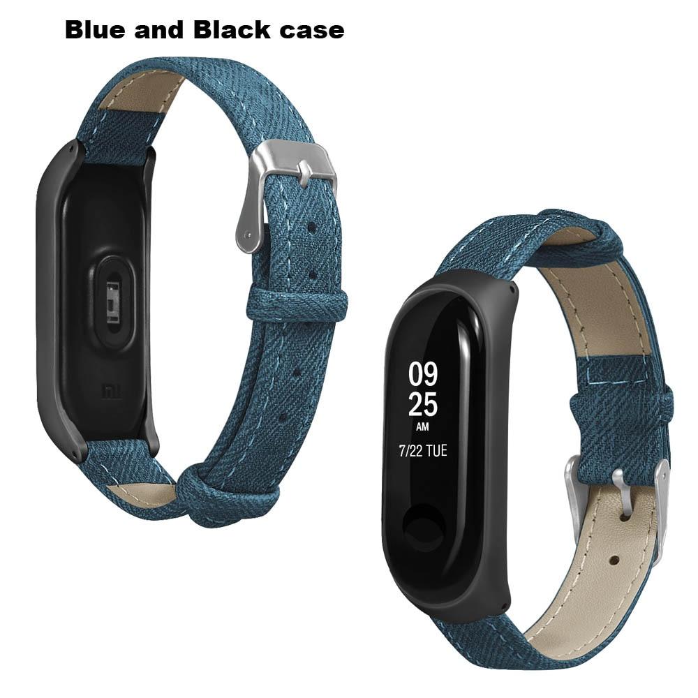 Mi Band 4 Leather Straps Bracelet For Original Xiaomi NFC Mi Band 4 Smart Wristband Miband 4 WristStrap Miband4 Wristband Strap in Smart Accessories from Consumer Electronics