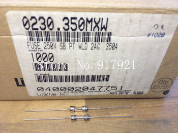 [ZOB] The United States Litteifuse 23O 2AG 350MA 250V Lite import pin tube fuse 4X15  --200pcs/lot