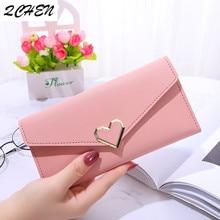 Women's wallet Long Purses Tassel Fashion Coin Purse Card Holder Female High Quality love Clutch Money Bag PU Leather Wallet 433
