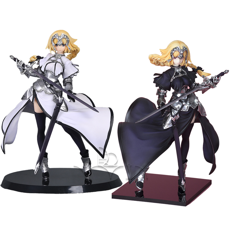Fate/Apocrypha Jeanne d'Arc Saber White & Black Ruler Ver. 1/8 Scale Painted Figure Collectible Model Toy tt tf ths 02b hybrid style black ver convoy asia exclusive
