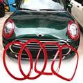 Auto Koplamp Hoofd Staart Achter Lampen Trim Ring Covers Decoratie Stickers Voor Mini Cooper Jcw F55 F56 Auto-styling Accessoires