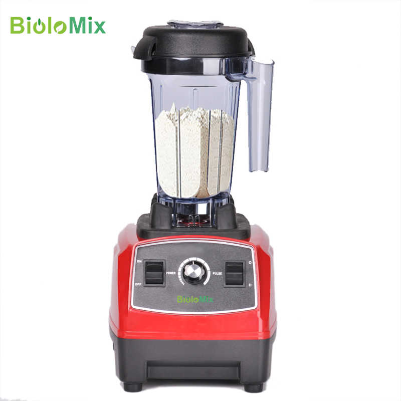 BPA Livre 3HP 2200 W Pesados da Classe Comercial Liquidificador Processador de Alimentos Espremedor De Alta Potência Misturador Smoothie de Gelo Barra de Frutas liquidificador