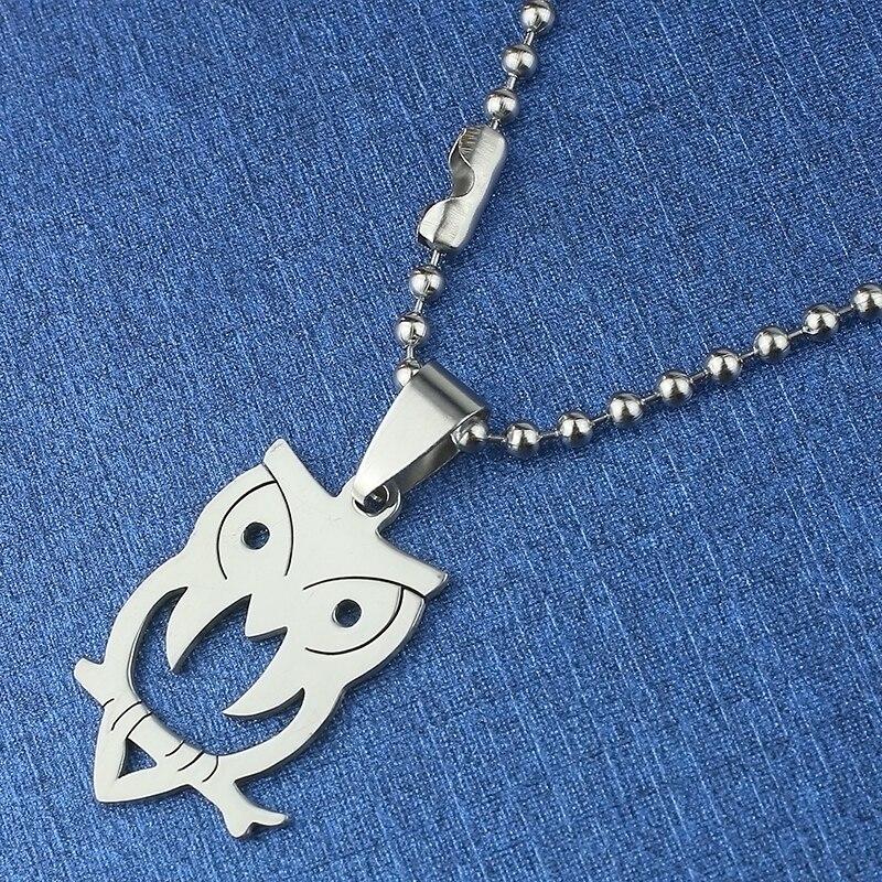 1pcs Besplatna dostava Muški nakit Sova Pribor Tidal Current Muški - Modni nakit - Foto 3
