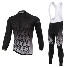 Moisture Perspiration  Cycling Clothing Long Sets Bike Clothing Spring Summer Bicycle Cycling Jerseys Sets L046
