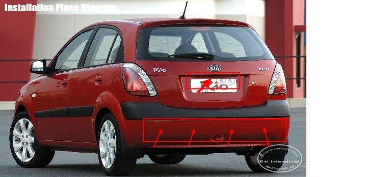 KIA-Rio-Hatchback-BIBI Alarm Parking System