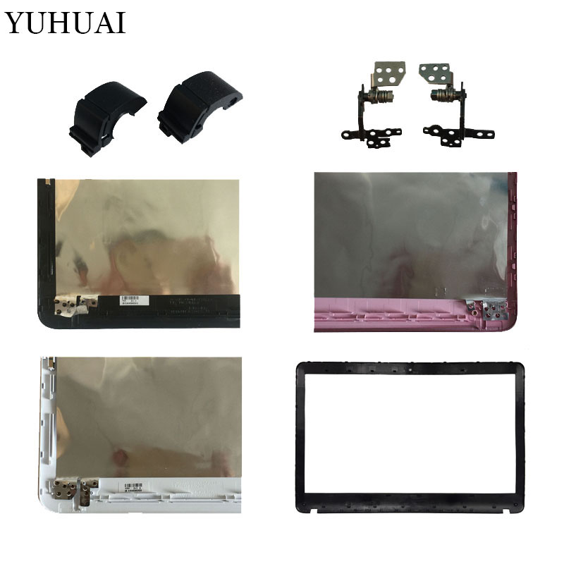 Laptop For SONY VAIO SVF152C29V SVF153A1QT SVF152100C SVF1521Q1RW LCD TOP Cover/LCD Front Bezel No touch/Hinges/Hinges cover gzeele new laptop lcd hinges bracket for lenovo ideapad u530 touch u530t for touch screen back cover hinges axis holder hinges