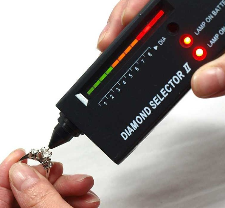 Practical Diamond Selector Diamond Tester Gemstone Selector Ii Gems LED Indicator Jewel Jewelry Tools Test