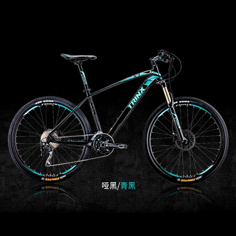 De alta calidad de 26 pulgadas bicicletas de acero 30 velocidad de aluminio Marco de bicicleta de montaña de patín de Pedal hidráulico de los frenos de disco de bicicleta TRINX