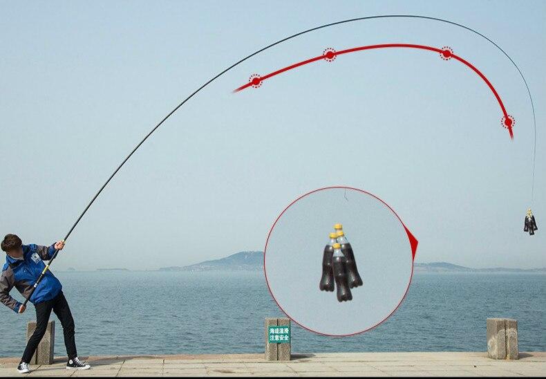 Equipamento De Pesca Telescópica Pólo de Alta Qualidade e Longa Vara