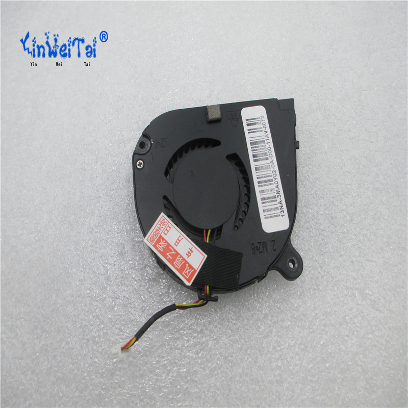 Купить с кэшбэком Original New Laptop CPU Cooling Fan For Acer Aspire One 756 V5-131 V5-171 AB06505HX06P300 DC 5V 0.4A 3 Pins DC28000BPA0