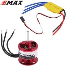EMAX CF2822 1200KV Outrunner Motor ESC 30A For Rc Airplane