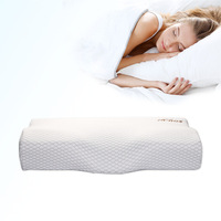 Memory cotton Anti snore Pillows for Sleeping 2 Pack Bed Pillow King Size Pillows Set of 2 Hypoallergenic Gusseted