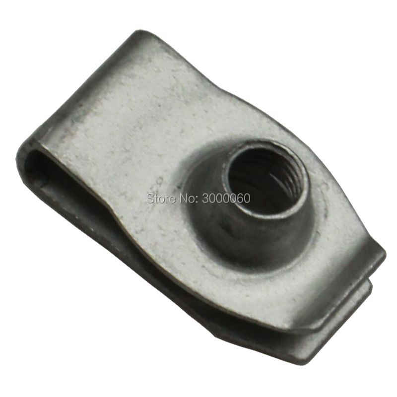 M5 M6 Dacro Spring Steel Speed Spring Captive U Clip Nuts 100pcs/lot