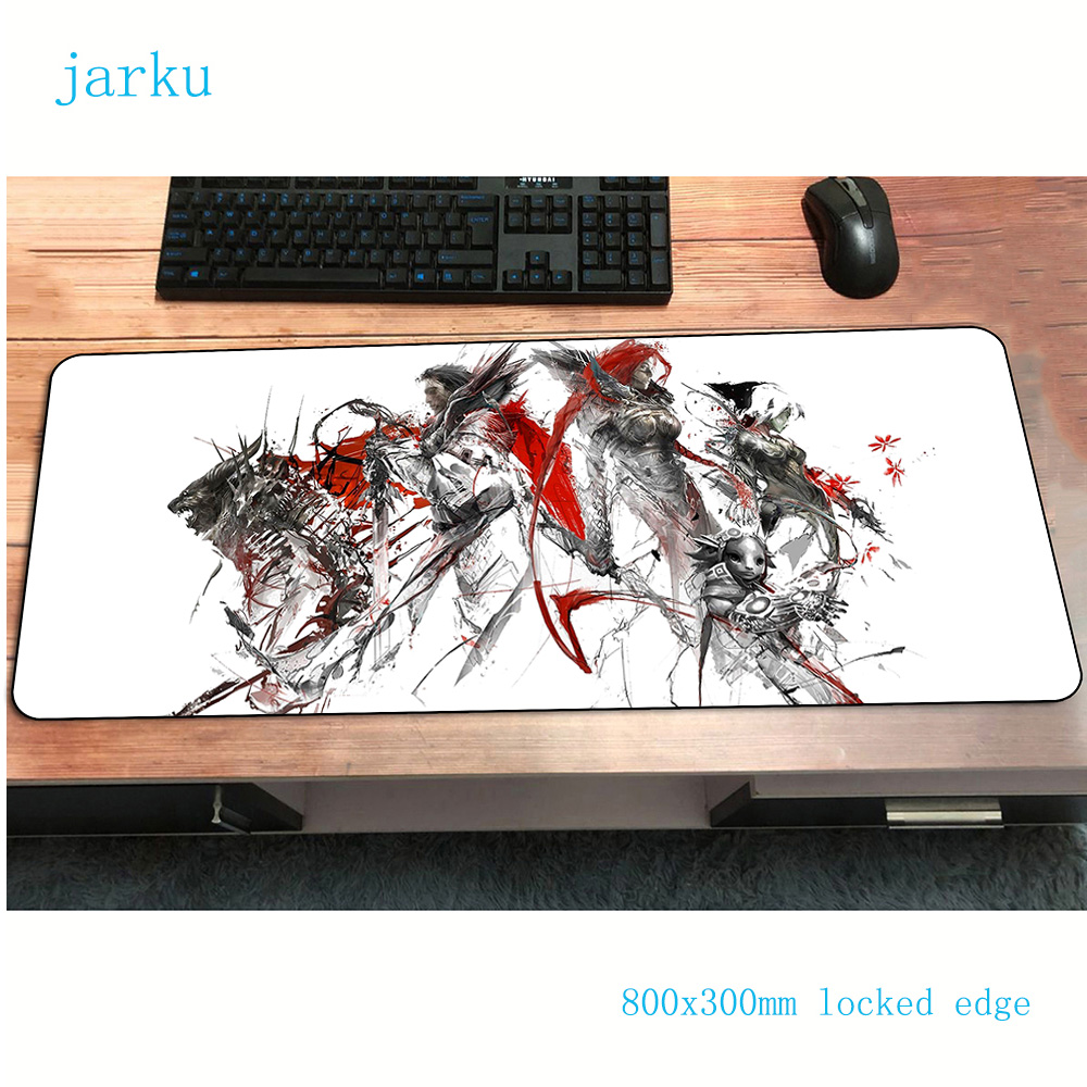 Guild Wars 2 Pad Mouse 800x300x2mm Pads To Mouse Notbook Computer Mousepad Locrkand Gaming Padmouse Gamer Keyboard Mouse Mats
