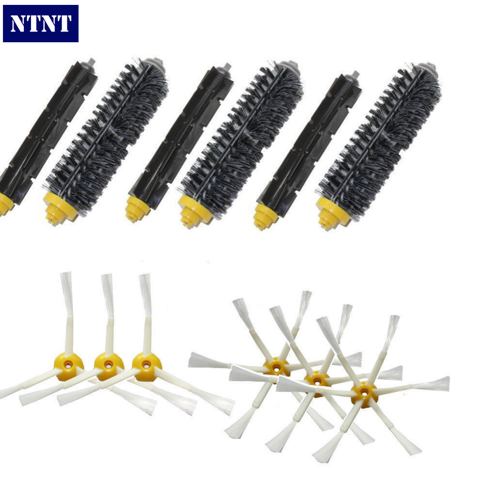 NTNT Free Post New 3/6 arms Brush for iRobot Roomba 600 700 Series 620 630 650 660 680 760 770 780 free post new blue 6 x aerovac filter for irobot roomba 600 series 620 630 650 660 670 680