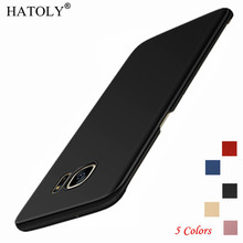 HATOLY For Phone Case Samsung Galaxy S7 Cover Slim Smooth & Ultra-thin PC Case For Samsung Galaxy S7 Case For Samsung S7 Funda цена и фото