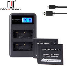2x NP W126 NP-W126S Batteries &LCD Charger for Fujifilm Fuji X-Pro1 2,X-T1 2 3 10 20 100, HS30 33 35 50EXR,XE1 2 S 3,XA5 3,X100F запчасть rubena r12 tomcat 29 x 2 10