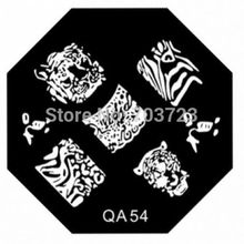 QA series Nail image plate mold template set nail printer nail scraping tool QA 54